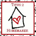Titus 2 Homemaker ~ Rachel Ramey's blog. One of my favorites - she's very smart, and covers parenting, health, nutrition, and lots of other topics I'm interested in.
