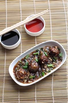 Learn to make Veg Manchurian Recipe at home with step by step instruction.