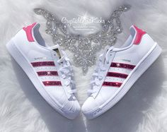 Womens Adidas Original Superstar Made with by CrystallizedKicks