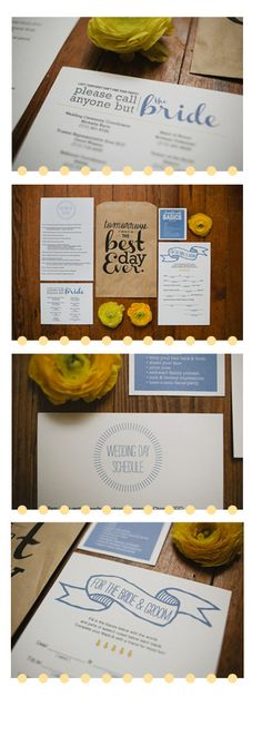 Give to your bridal party the day of the wedding