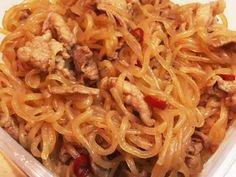 お弁当に◯!豚こま肉としらたきの甘辛煮の画像