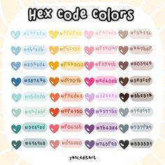 Pantone Colour Palettes, Color Schemes Colour Palettes, Pantone Color, Hex Color Palette, Pastel Colour Palette, Hex Codes, Hex Color Codes, Couleur Html, Simbolos Para Nicks