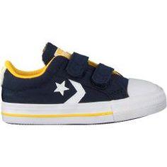 CONVERSE Sneaker low 'Star Player 2V OX' Jungen, Schwarz