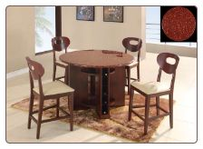 Marbled Top Gl 7010 Bar Room Table Set By Global Furnither Usa