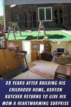 #Years #After #Building #Childhood #Home #Ashton #Kutcher #Returns #Mom #Heartwarming #Surprise Cool Kitchen Gadgets, Cool Kitchens, Purple Night Lights, Cozy Bedroom, Bedroom Decor, Polaroid Instax Mini, Underwater Metal Detector, Cake Designs For Girl, Pop Art Wallpaper