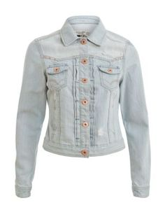 Pale Blue Denim Jacket