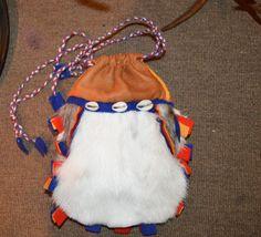 Sami. Lapland. Reindeer pouch, handmade art