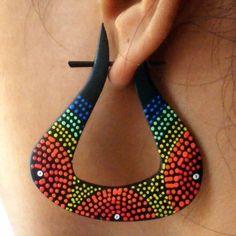 Organic Wooden Earrings