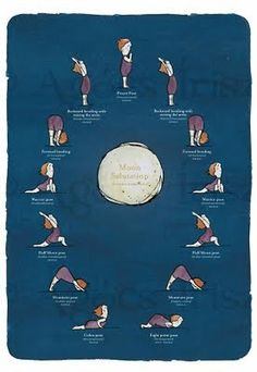1000 images about sun  moon salutations on pinterest