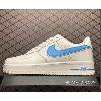 e0131cee692b2e Women Men Nike Air Force One  07 3 White University Blue AO2423-100 Super  Deals