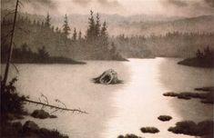 kittelsen-056 - Näcken 1910