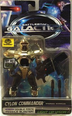 (TAS008087) - Collectible Battlestar Galactica Action Figure - Cylon Commander