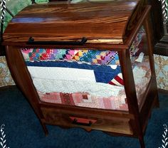 all quilt cabinets | option for both storage and display with an