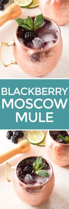 Blackberry Moscow Mule – Cake 'n Knife