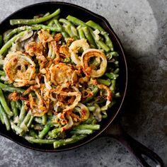Crispy shallots, Green bean casserole and Bean casserole on Pinterest
