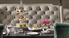 High Tea at Palm Court - We're enchanted by afternoon tea sessions at the Langham. High Tea, Afternoon Tea, Enchanted, Tea Time, Palm, Auckland, Happiness, Home Decor, Ideas