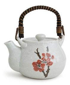 Another great find on #zulily! Miya Company Red Plum Tea Pot by Miya Company #zulilyfinds