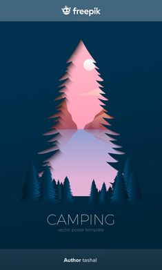 Free Vector Images, Vector Free, Travel And Tourism, Campers, Superhero Logos, Silhouettes, Forest Wallpaper, Silhouette Vector, Dibujo