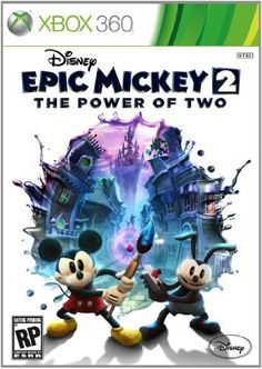 Disney Epic Mickey 2: The Power of Two by Disney, http://www.amazon.com/dp/B007MM9E4C/ref=cm_sw_r_pi_dp_RBrMqb0059RDW