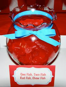 Not cookies but part of the Dr Suess pary. One fish, two fish, red fish, chew fish! Sugar Best Picture For dr seuss snacks for toddlers For Your Taste You a Dr Seuss Party Ideas, Dr Seuss Birthday Party, First Birthday Parties, Dr Suess Baby, Dr Seuss Baby Shower, Twin First Birthday, Baby Birthday, Birthday Ideas, Birthday Pins