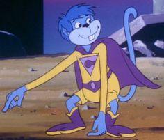 "Waaaaay before Glee came on the scene, ""Gleek"" was the name of the Wonder Twin's Monkey."