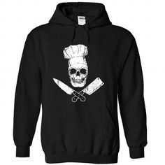 Make this awesome proud Chef: CHEF SKULL  LIMITED EDITION as a great gift Shirts T-Shirts for Chefs