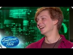 Joel Nemoyer has prefers to lie down when performing. Was this method help his chances in his audition? #idol #idolauditions #idolcharlotte