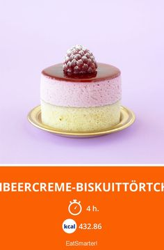 Himbeercreme-Biskuittörtchen - mittel - Eine Rezeptidee von EAT SMARTER | Creme, Kuchen, Tortelett #törtchen #rezepte Cake Recipes, Dessert Recipes, Desserts, Cake Cookies, Cupcakes, Sweets Cake, Eat Pizza, Mini Cakes, Vanilla Cake