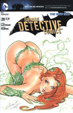 Poison Ivy Blank cover by Elias-Chatzoudis.deviantart.com on @deviantART