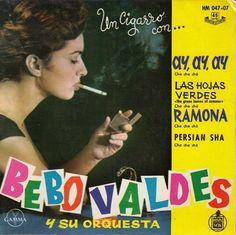 "BEBO VALDES - Persian Sha - SPANISH 7"" EP 45 Spain 1961 Latin Jazz Mambo"