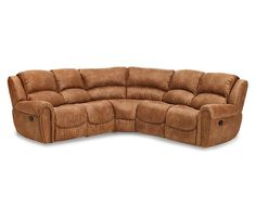 Sofas-Bonanza 6 Pc. Sectional-Ultimate rest for the casual recliner