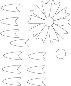 Flower patterns to cut out paper - photo#26