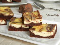 Brownies Cheesecake al Cioccolato Oh mamma