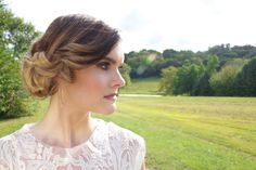 This fall inspired makeup and twisted updo make the perfect combo. Hair | Lacey West, Makeup | Sara King, Photo Credit | Alicia Katy Photography