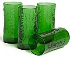 Green Glass - Carlsburg Tumblers