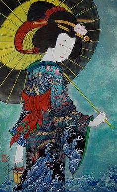 Zayasaikhan Sambuu (1975 - …..) – Pintor Mongol_3