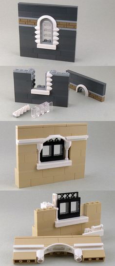 Lego Buildings Windows - Building Sideways Book Your Photos and Leave Memories to Your Children We are at your service with the option to book every p. Lego Moc, Lego Minecraft, Lego Disney, Lego Modular, Lego Design, Legos, Chateau Lego, Lego Poster, Pokemon Lego