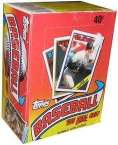 1988 Topps One Baseball Card Unopened Hobby Box (Glavine RC) by Topps. $21.89. 1988 Topps One Baseball Card Unopened Hobby Box (Glavine RC)