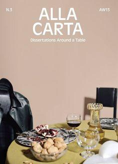 cover of Alla Carta no. 3art directed by Garner/Sansavini