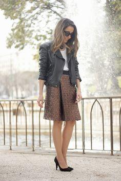 Bronze skirt   BeSugarandSpice - Fashion Blog