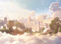 In the clouds, Borivoje Mikic on ArtStation at http://www.artstation.com/artwork/in-the-clouds