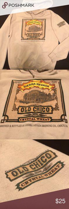 Sierra Nevada Old Chico Hoodie Tan Sierra Nevada Brewing Company hoodie. Old Chico. Sweaters