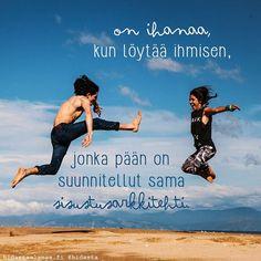 """Kun tie on kaunis, on tarpeetonta kysyä mihin se vie"" - 7 voimakuvaa Sinulle Learn Finnish, Good Sentences, The Way I Feel, Cute Love Quotes, Friendship Quotes, Positive Vibes, Wise Words, Texts, Motivational Quotes"