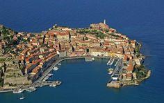 Portoferraio. * Ilha de Elba, Itália.