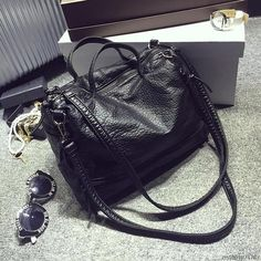 Cheap large women handbags, Buy Quality fashion handbag directly from China handbags fashion Suppliers: 2017 Fashion Waterproof Pu Leather Crossbody Bag Vintage Women Messenger Bag Motorcycle Shoulder Bag Large Women Handbag Large Handbags, Vintage Handbags, Leather Crossbody Bag, Leather Handbags, Pu Leather, Crossbody Bags, Leather Bags, Clutch Bags, Black Leather