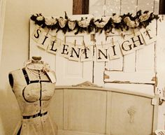 miss gracie's house: silent night banner