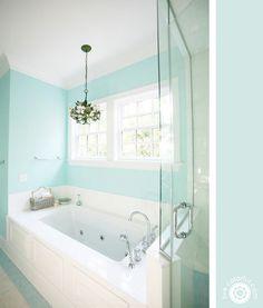 Live Colorful - Creative Ideas and Stuff... colores en baños