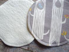 Organic Nursing Pads Organic Hemp Washable by LittleLotusOrganics