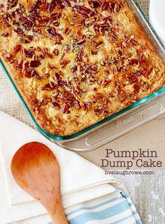 Pumpkin Dump Cake | 19 Deliciously Easy Dump Cake Recipes