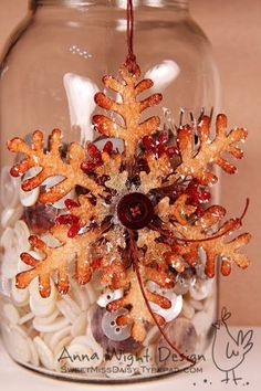 This blog (sweet miss daisy) has some really pretty stuff!  I'm inspired to make Christmas ornaments!